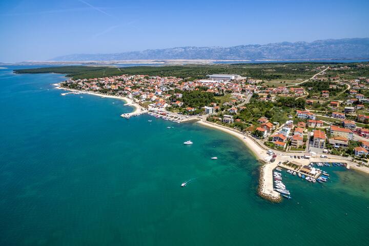 Vrsi - Mulo riviéra Zadar (Sjeverna Dalmacija)