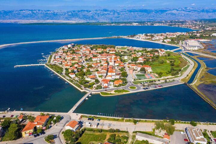 Nin na rivieri Zadar (Sjeverna Dalmacija)