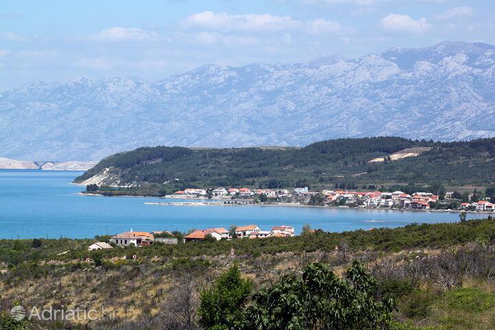 Ljubač на Ривьере Zadar (Sjeverna Dalmacija)