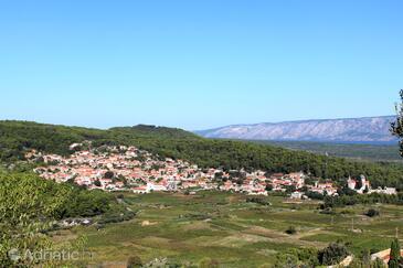 Svirče on the island Hvar (Srednja Dalmacija)