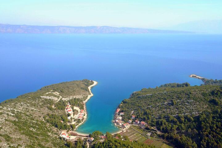 Prapatna on the island Hvar (Srednja Dalmacija)