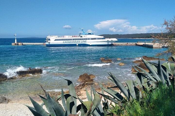 Silba on the island Silba (North Dalmatia)