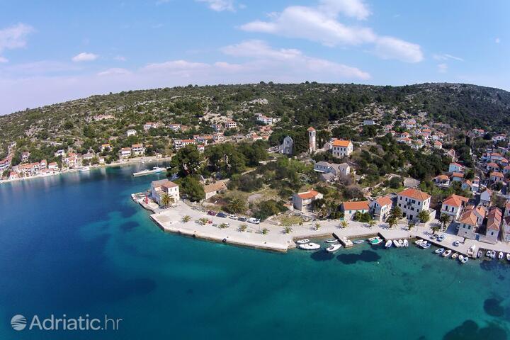 Drvenik Veliki on the island Drvenik (Srednja Dalmacija)