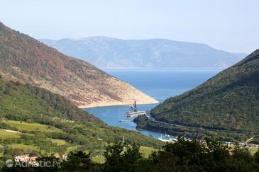 Plomin Luka in riviera Labin (Istra)