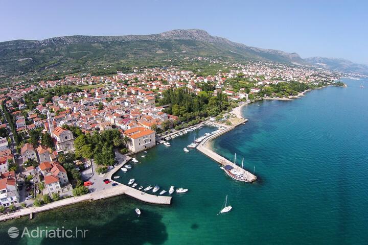 Kaštel Lukšić an der Riviera Kaštela (Srednja Dalmacija)