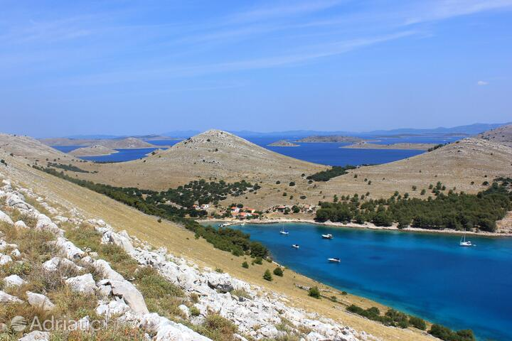 Statival bay on the island Kornati (North Dalmatia)