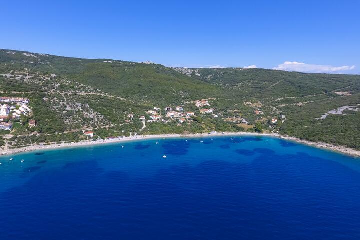 Miholašćica on the island Cres (Kvarner)