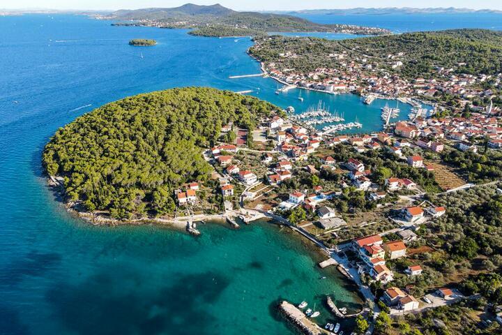 Kukljica on the island Ugljan (Sjeverna Dalmacija)