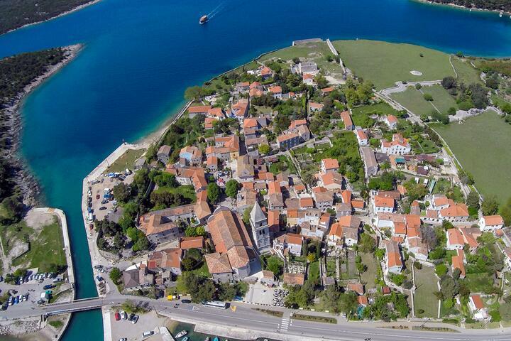 Osor on the island Lošinj (Kvarner)