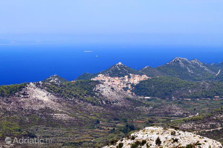 Lastovo sur l'île Lastovo (la Dalmatie du sud)