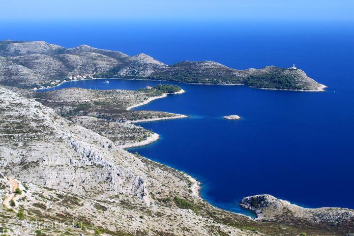 Skrivena Luka on the island Lastovo (Južna Dalmacija)