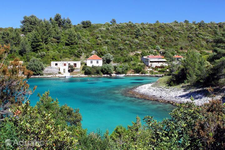 Karkavac - Šćedro on the island Hvar (Srednja Dalmacija)