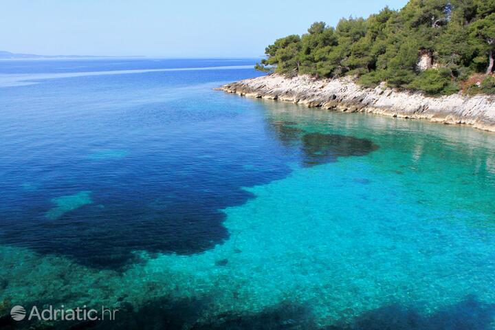 Prisnjak on the island Hvar (Srednja Dalmacija)