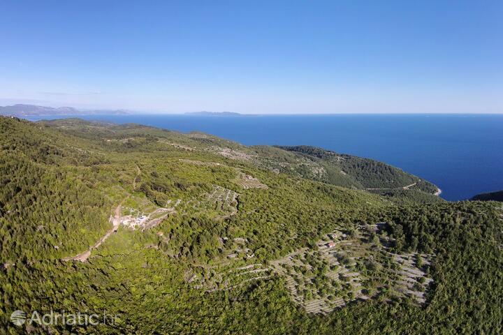 Zavinačac on the island Korčula (Južna Dalmacija)