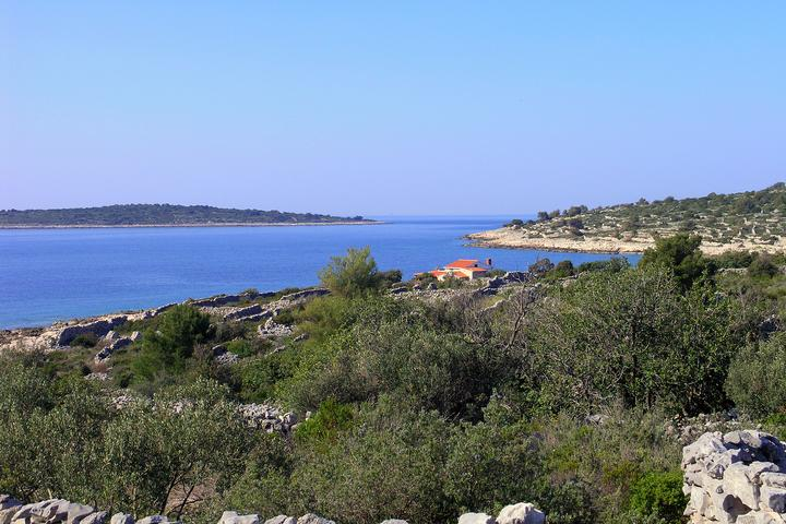 Pernatice bay on the island Drvenik (Central Dalmatia)