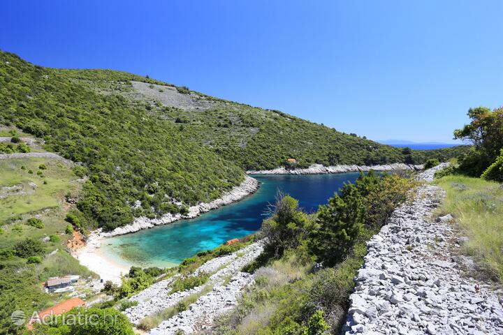 Pavija Luka on the island Korčula (Južna Dalmacija)