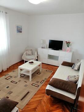 Rogoznica, Гостиная в размещении типа apartment, Домашние животные допускаются и WiFi.
