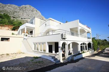 Gornja Podgora, Makarska, Property 10026 - Vacation Rentals with pebble beach.
