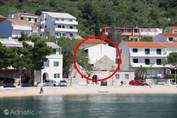 Igrane, Makarska, Objekt 10033 - Ubytování v blízkosti moře s oblázkovou pláží.