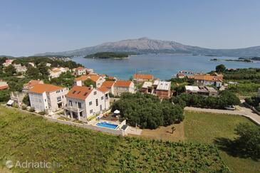 Lumbarda, Korčula, Property 10039 - Vacation Rentals with sandy beach.