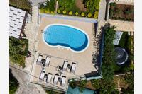 Apartmány u moře s bazénem Prižba (Korčula) - 10056