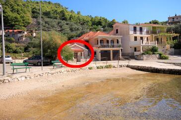 Gršćica, Korčula, Objekt 10059 - Ubytovanie blízko mora.