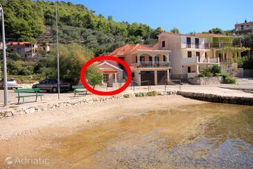 Gršćica, Korčula, Objekt 10059 - Ubytování v blízkosti moře.