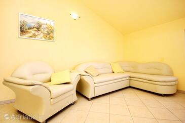 Prižba, Гостиная в размещении типа apartment, Домашние животные допускаются и WiFi.
