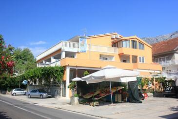 Orebić, Pelješac, Obiekt 10088 - Apartamenty ze żwirową plażą.
