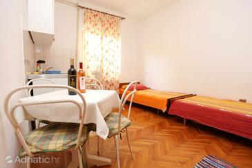 Orebić, Столовая в размещении типа apartment, Домашние животные допускаются и WiFi.