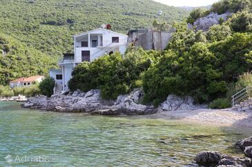 Velika Prapratna, Pelješac, Objekt 10106 - Ubytování v blízkosti moře s oblázkovou pláží.