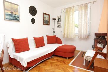 Žuljana, Obývací pokoj v ubytování typu apartment, WiFi.