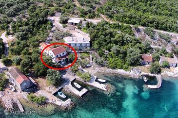 Žuronja, Pelješac, Objekt 10134 - Ubytování v blízkosti moře s oblázkovou pláží.