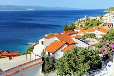 Pisak, Omiš, Hébergement 1014 - Appartement à proximité de la mer avec une plage de galets.
