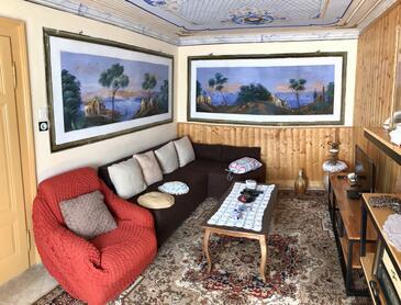 Viganj - Podac, Dnevna soba 1 v nastanitvi vrste house, Hišni ljubljenčki dovoljeni in WiFi.
