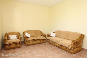 Trpanj, Living room in the apartment, (pet friendly) and WiFi.