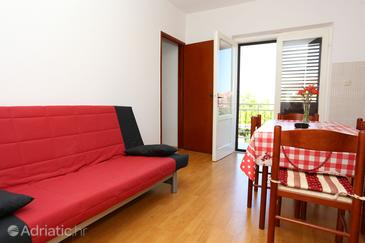 Trpanj, Dining room in the apartment, (pet friendly) and WiFi.
