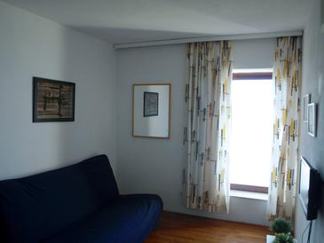 Orebić, Obývací pokoj v ubytování typu apartment, WiFi.