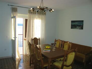 Pisak, Living room in the apartment.