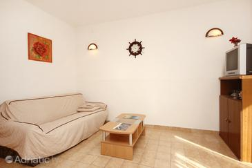 Kneža, Living room in the apartment, dopusteni kucni ljubimci i WIFI.