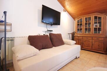 Lovište, Living room in the apartment, dostupna klima, dopusteni kucni ljubimci i WIFI.