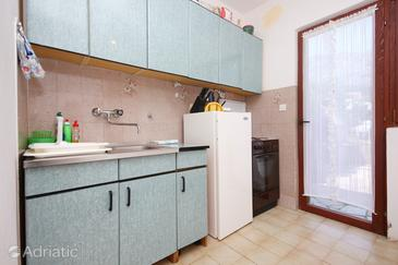 Orebić, Kitchen in the apartment.