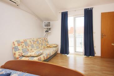 Orebić, Living room in the studio-apartment, WIFI.