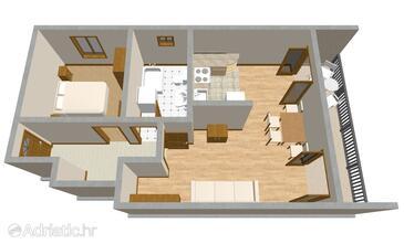 Stari Grad, Plan in the apartment, WiFi.