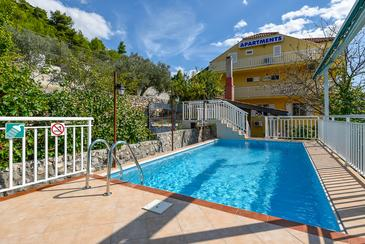 Ston, Pelješac, Property 10208 - Apartments with pebble beach.