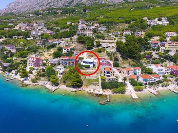 Zavode, Omiš, Property 1021 - Apartments near sea with pebble beach.