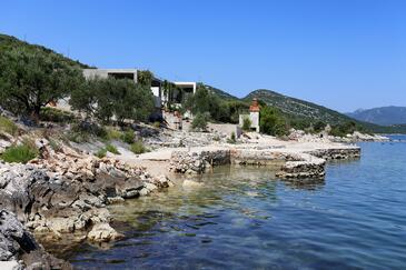 Pještata, Pelješac, Objekt 10210 - Ubytování v blízkosti moře s oblázkovou pláží.