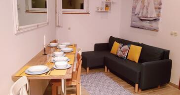 Mali Ston, Столовая в размещении типа apartment, доступный кондиционер, Домашние животные допускаются и WiFi.