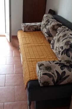 Orebić, Salon dans l'hébergement en type apartment, climatisation disponible et WiFi.