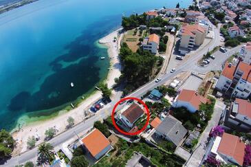 Mastrinka, Čiovo, Obiekt 10261 - Apartamenty przy morzu ze żwirową plażą.